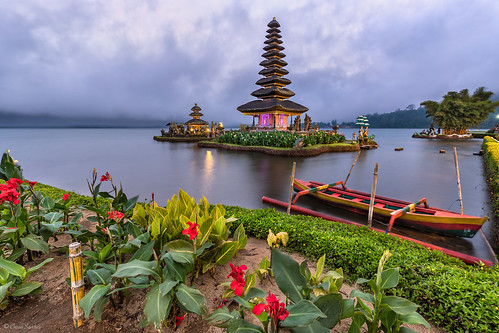 Floating on the Lake || Flotando en el Lago (Pura Ulun Danu Batran, Bedugul. Bali)