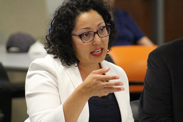Assembly member Cristina Garcia