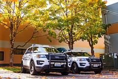 Mill Creek Police Department 2015 & 2016 Ford Police Interceptor Utility SUVs