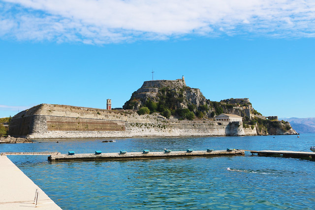 Old Fortress, Corfu