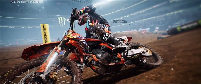 Monster Energy Supercross - Photorealism