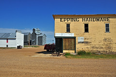Epping, North Dakota Down Town.
