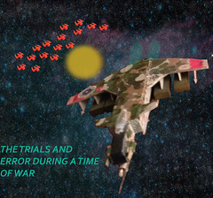The Trails and errror During a Time Of War, Shadowhawk vs enemy craft