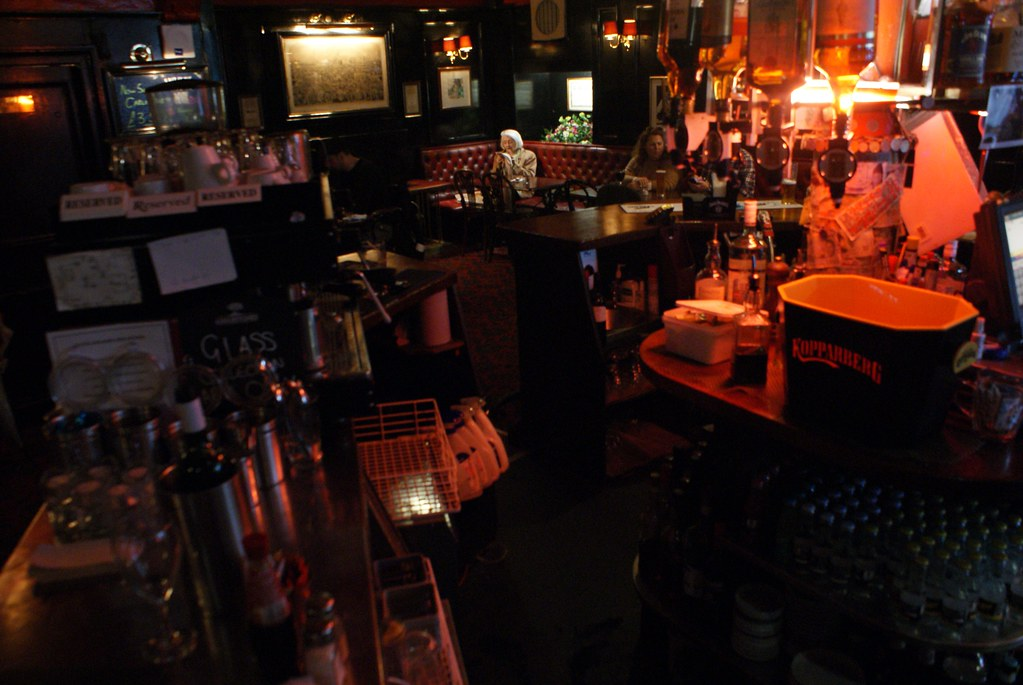 Bailie Bar, joli pub et merveilleux fish and chips à Edimbourg.