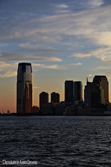ATARDECER. SUNSET IN JERSEY CITY.