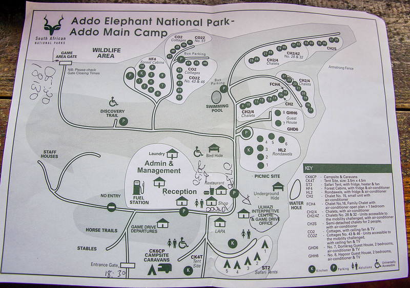Addo area map
