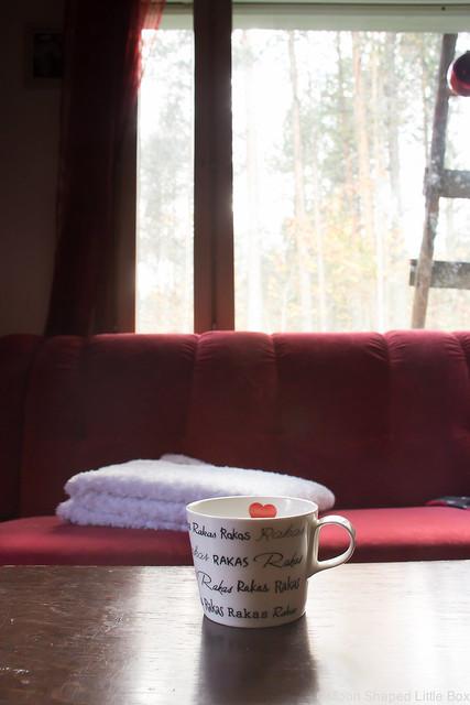 Kummalliset Tavat Blogihaaste bloggaaja haaste blogiin kahvi kahvikuppi rakas tekstillä olohuone