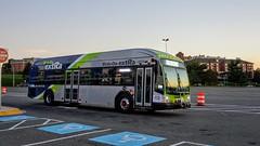 Montgomery County Transit Ride On extRa 2017 Gillig Low Floor BRT Plus Diesel #44072D