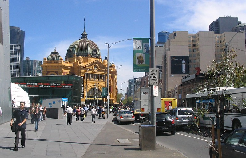 Flinders Street Station, October 2007