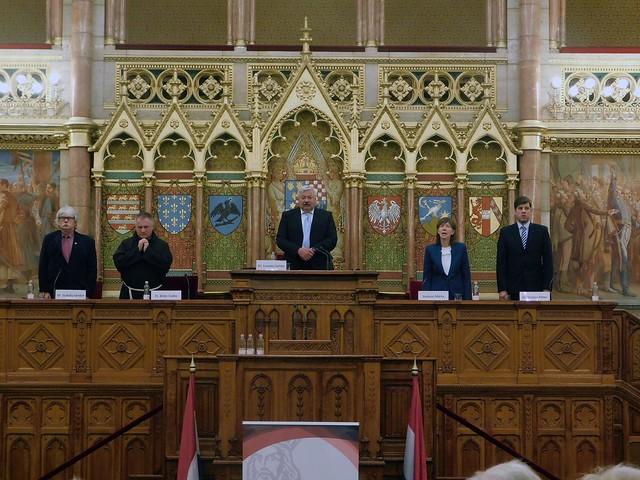 Szent László Emlékülés a Parlamentben