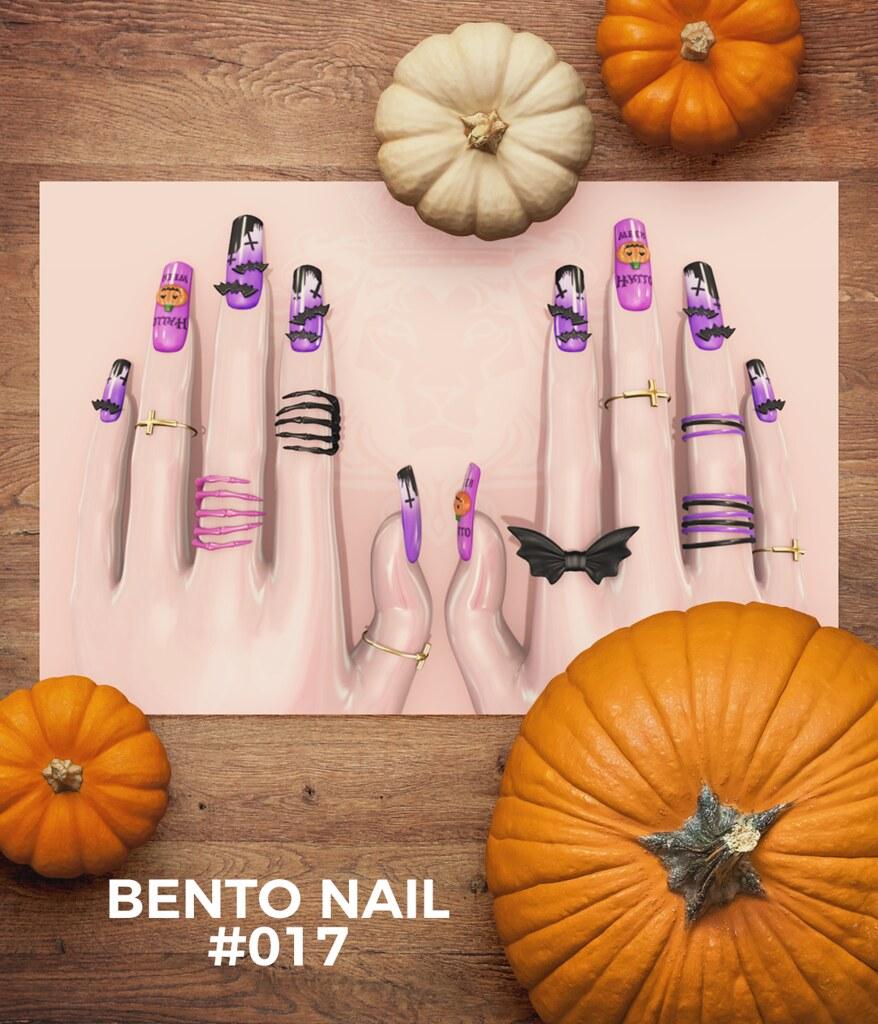BENTO NAIL #017 - TeleportHub.com Live!