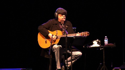 Silvio Rodriguez en Central Park, New York