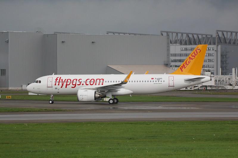 A320neo Pegasus Airlines TC-NBL