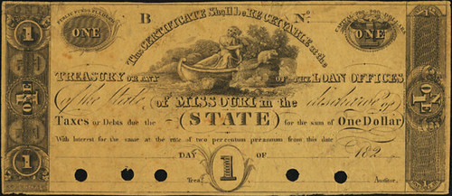 Unconstitutional Missouri Loan Office Note