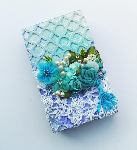 Upcycled-mixed-media-gift-box