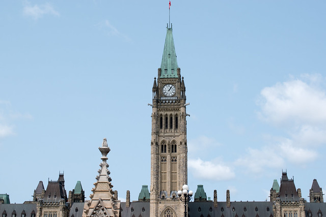 Visiting Canadian Parliament