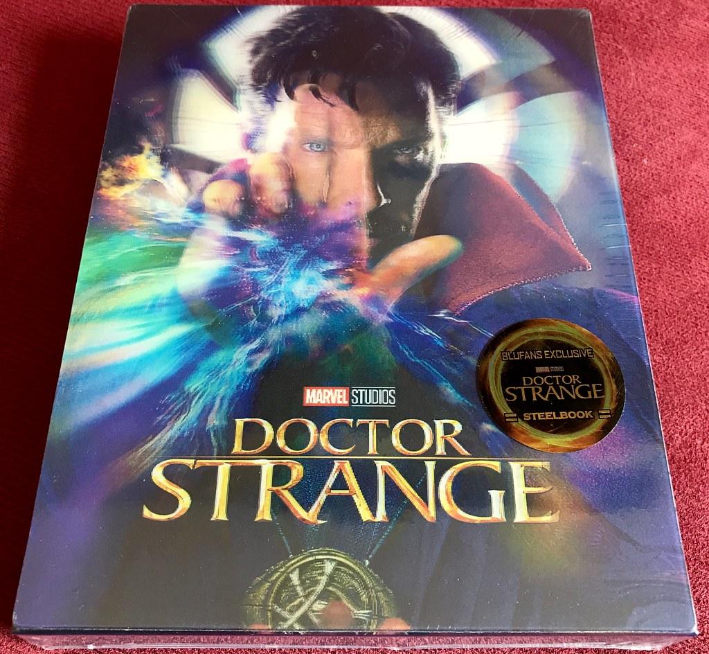 Doctor Strange - Blufans Double Lenticular - Media Psychos