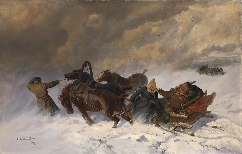 Nikolai Yegorovich Sverchkov - Into the Blizzard