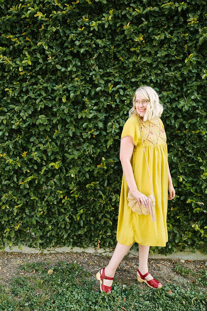 austin fashion blogger writes like a girl yellow zara dress5
