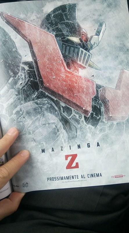 Mazinga Z Infinity - Magazine publicity