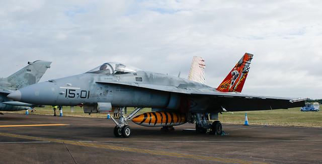 Lockheed Martin F-18 'Hornet',RIAT,RAF Fairford,Gloucestershire.