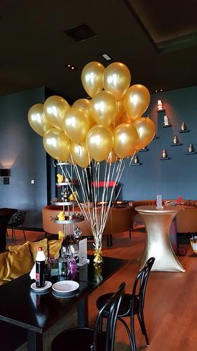 Heliumballonnen Hotel van der Valk Sneek