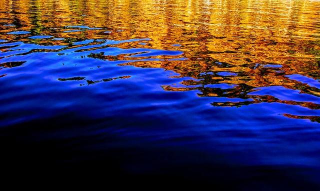 Fall Reflection, Sony DSC-W150