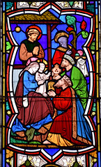 Adoration of the Magi (Heaton, Butler & Bayne, 1860s)