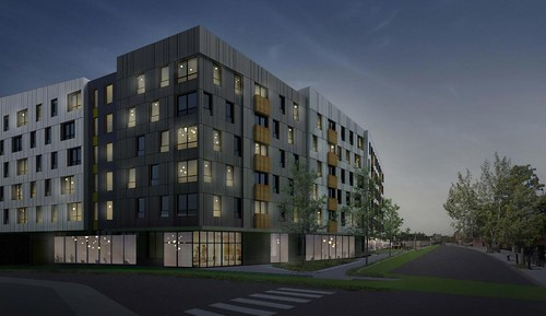 Mattapan Mixed-Use Development Renderings