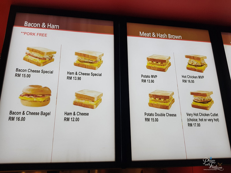 isaac toast klia 2 menu food