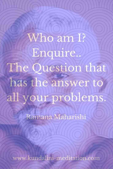 Who am I? Enquire