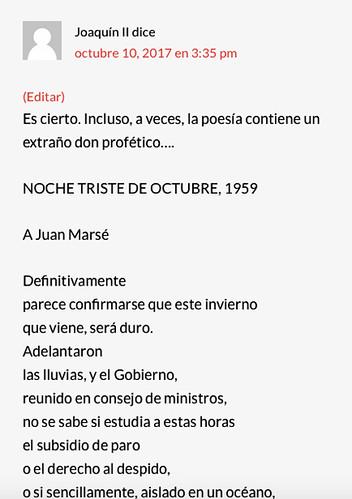 17j12 Joaquín II rescatga poema Gil de Biedma Uti 425