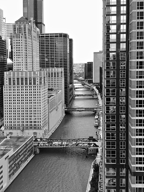 Chicago River: looking south