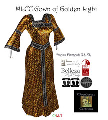 MLCC Gown of Golden Light Ad Pic