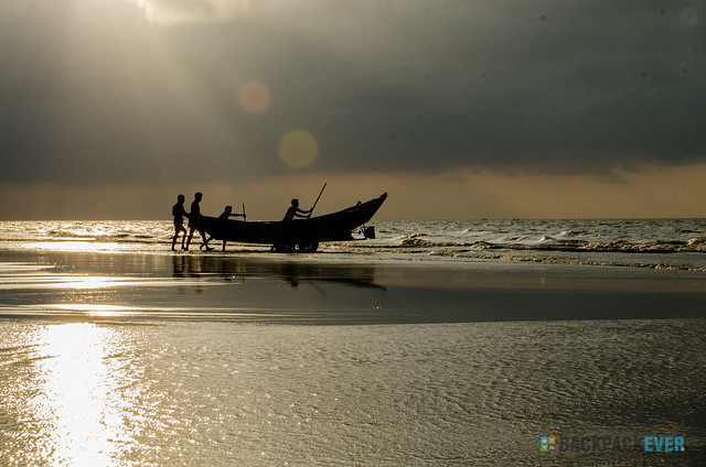 Fishermen's morning V1