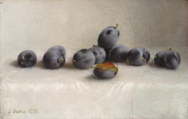 Joseph Decker - Twelve Plums [1896]