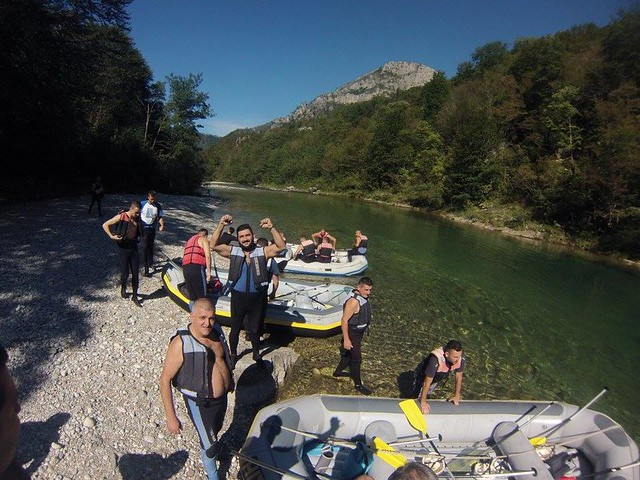 Only one rafting in Bosnia