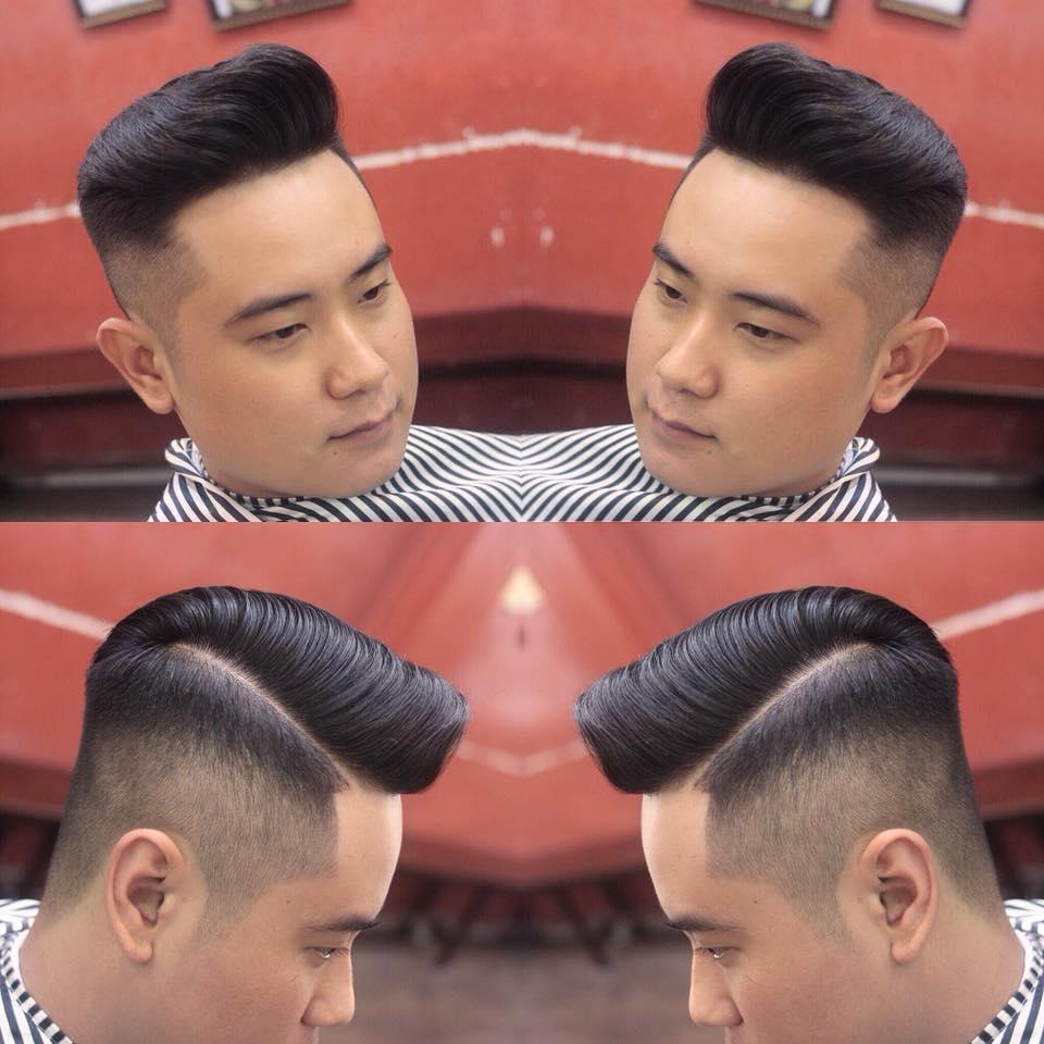 Kiểu tóc Undercut Liêm Barber