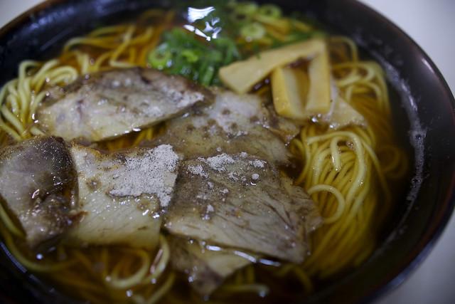 Chinese noodles (extra) at SHINOIDA-Ya