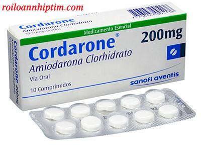 Thuốc Cordarone và lưu ý trong điều trị rối loạn nhịp tim