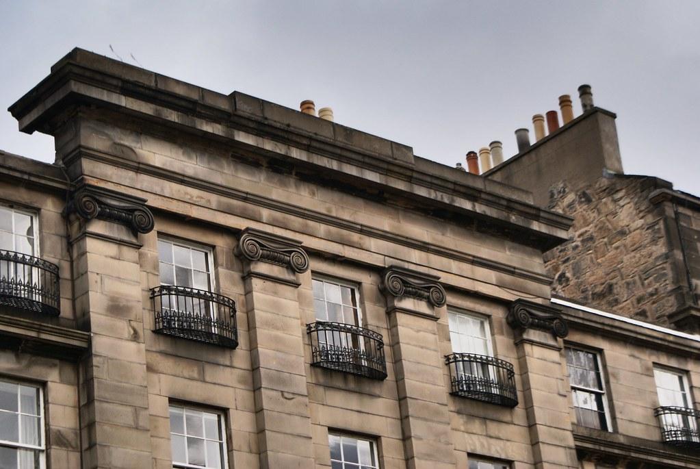 Quartier de Stockbridge à Edimbourg