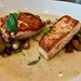 pan roasted salmon and potatoes at Corridor