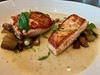 pan roasted salmon and potatoes at Corridor by Fuzzy Traveler