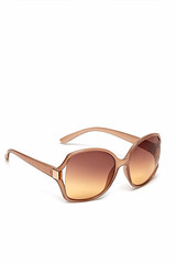 Debenhams oversized amber sunglasses