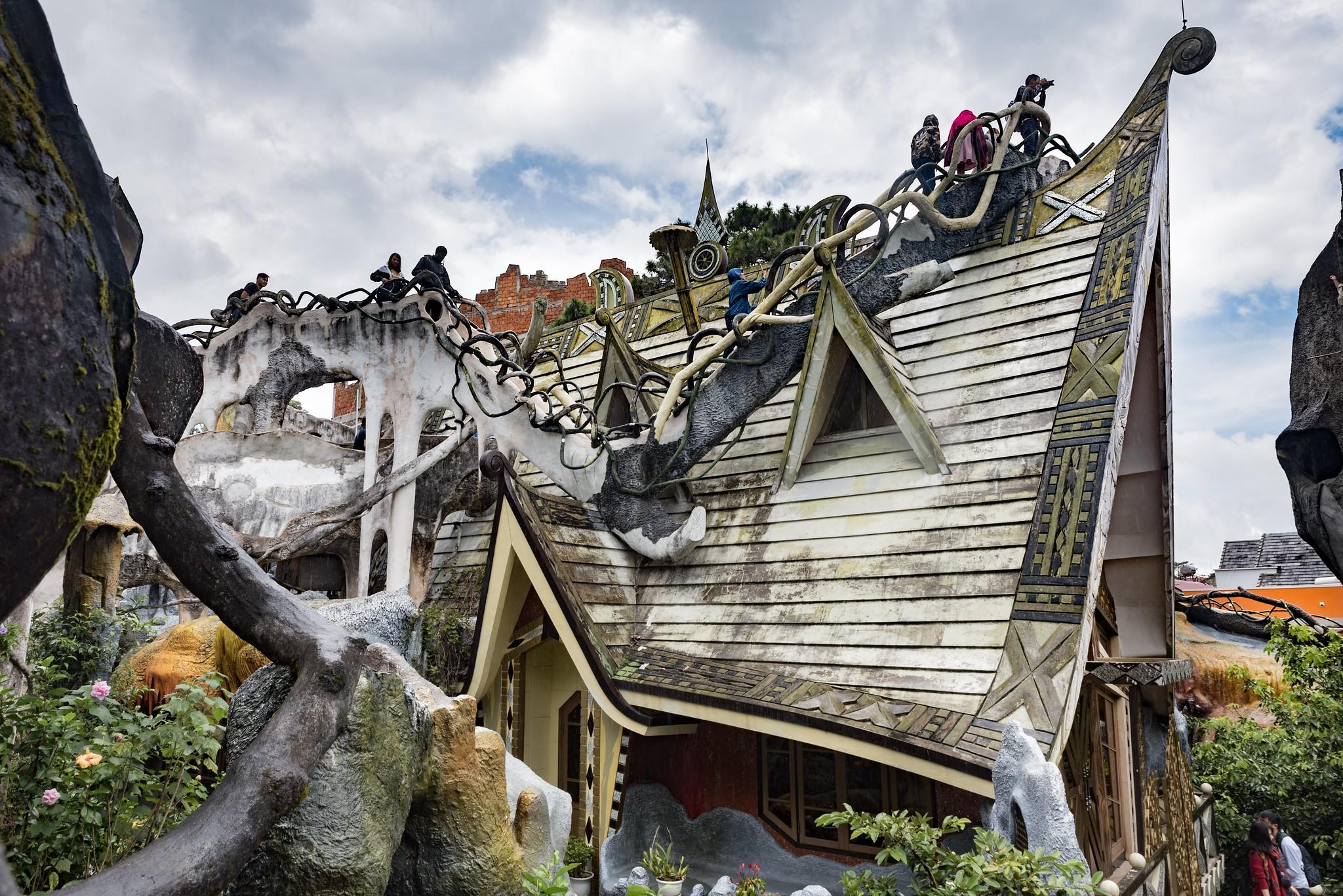 Crazy house de Dang Viet Nga en Dalat
