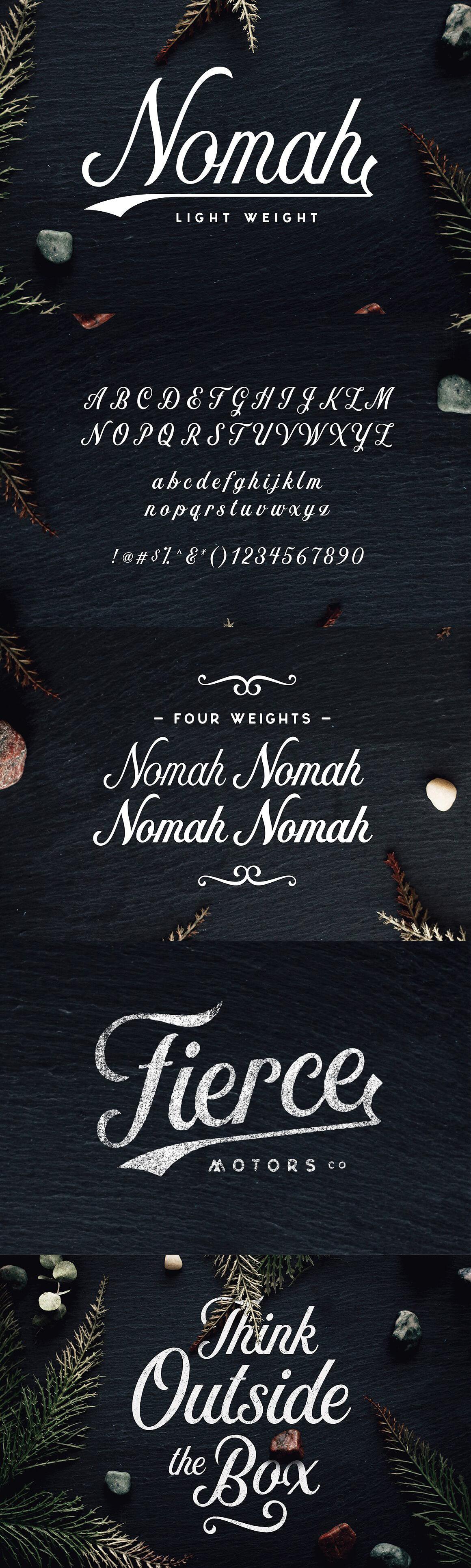 Nomah Light Font