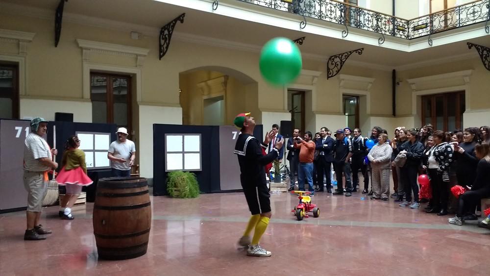 Cultura - puesta en escena dia del funcionario municipal 2017