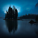 Aura, Maligne Lake, Alberta, Canada by christopherhawkinsimages.com