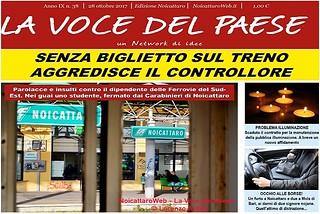 Noicattaro. Prima pagina n. 38-2017 front