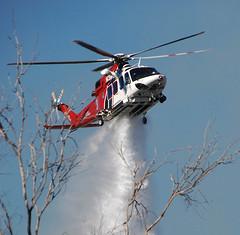 Hansen Dam Brush Fire Held to 3 Acres